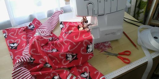 Kid's Pyjamas Workshop - with repurposed material!