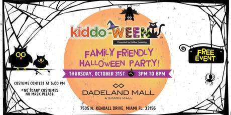 Kiddo-Ween Party at Dadeland Mall tickets