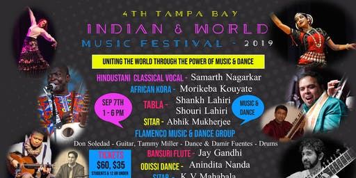 Tampa Bay Indian & World Music Festival - 2019