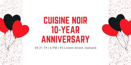 Cuisine Noir Magazine 10-Year Anniversary Celebration! tickets