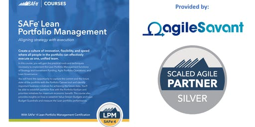 SAFe 4.6 Lean Portfolio Management