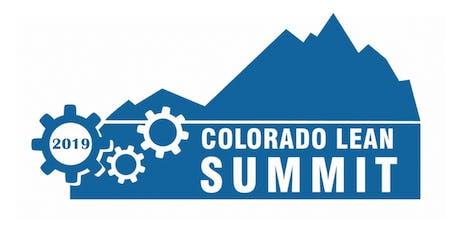 2019 Colorado Lean Summit tickets