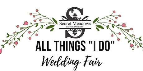 "All Things ""I Do"" Wedding Fair tickets"