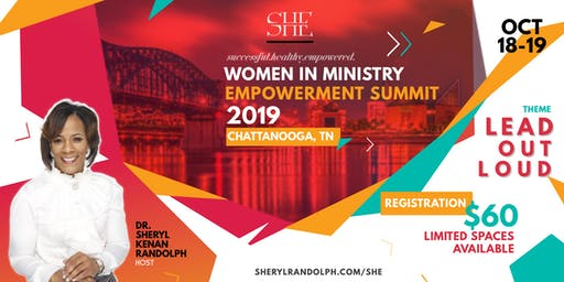 SHE Women in Ministry Empowerment Summit 2019