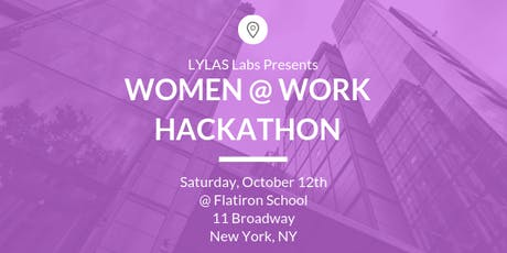 LYLAS Labs: Women @ Work Hackathon tickets