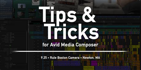 BAVUG 2019 September | Tips & Tricks for Avid Media Composer tickets