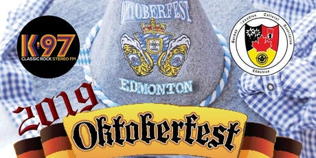 ROCKtoberfest presented by K97 @ the GCCA  It's Saturday Night! Ein Prosit! tickets