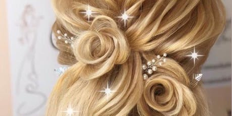 Bridal hair style workshop class tickets