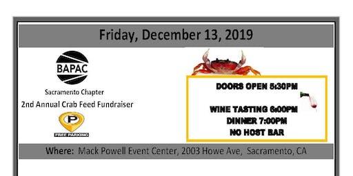 BAPAC Sacramento Chapter 2nd Annual Crab Feed Fundraiser