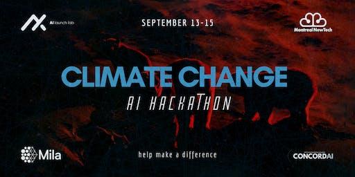 Climate Change AI Hackathon