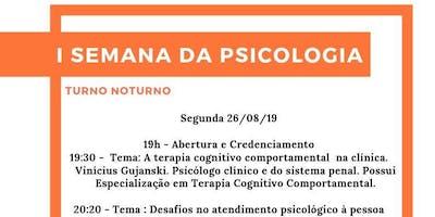 I SEMANA DA PSICOLOGIA - PITÁGORAS GUARAPARI
