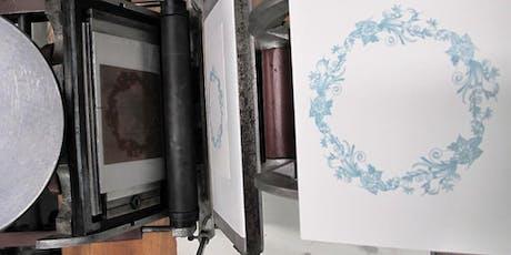 Workshop Letterpress-Polymeerplaat tickets
