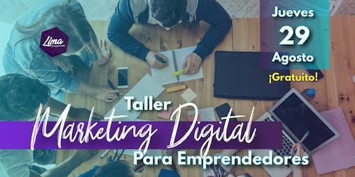 Taller de Marketing Digital Para Emprendedores