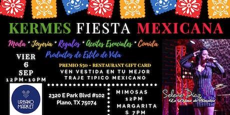 Kermes Fiesta Mexicana tickets