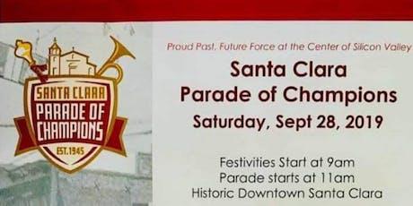 Santa Clara Parade of Champions tickets