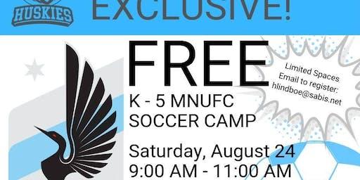 The International School & MNUFC K - 5 Soccer Camp