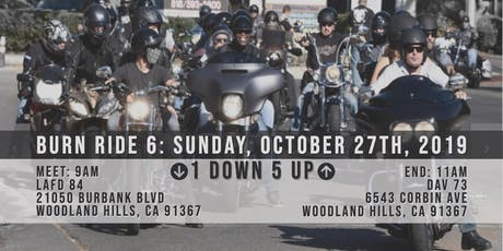 SoCal Burn Ride 6: Sunday, Oct 27, 2019 tickets