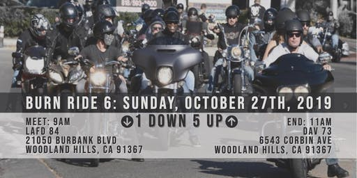 SoCal Burn Ride 6: Sunday, Oct 27, 2019