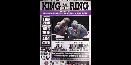 NEW ENGLAND: KING OF THE RING (FINALS) tickets