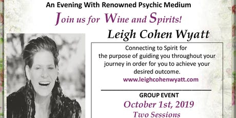 An Evening with Renowned Psychic/Medium Leigh Cohen Wyatt tickets