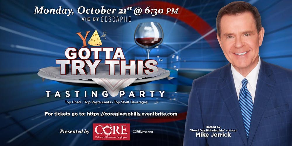 Ya Gotta Try This™ Tasting Party Tickets, Mon, Oct 21, 2019