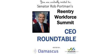 Senator Rob Portman Reentry Workforce Summit tickets