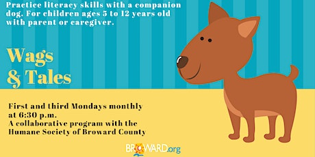 Wags & Tales — Every 1st and 3rd Monday of the Month tickets