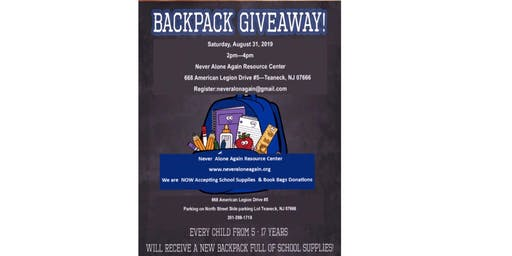 Back to School Supplies Distribution Event
