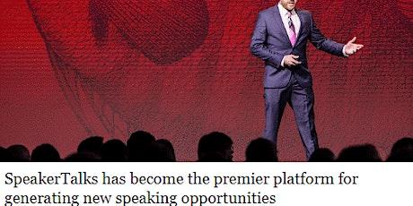 SpeakerTalks™ Best Speaker Event with Speaker & Author Training tickets
