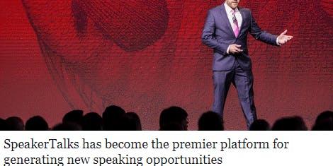 SpeakerTalks Best Speaker Event & Speaker Training