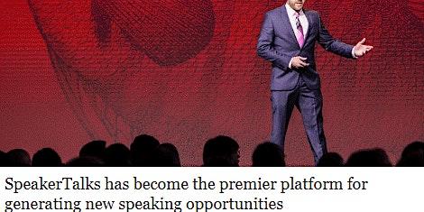 SpeakerTalks Best Speaker Event & Speaker & Author Training