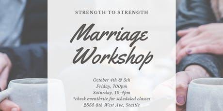 Strength to Strength {Marriage Workshop} tickets
