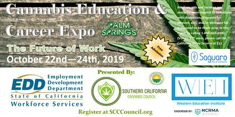 Cannabis Education & Career Expo - Palm Springs tickets