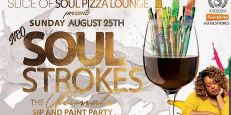 Soulstrokes: The Ultimate Sip & Paint Party tickets
