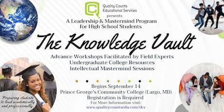 The Knowledge Vault: High School Leadership & Mastermind Program tickets