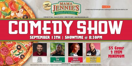 Stand Up Comedy Show at Mama Jennie's Italian Restaurant- Justin Foster (FOX) tickets