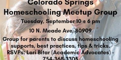 Homeschooling Parent MEETUP