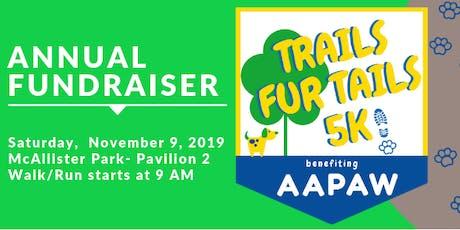 Trails Fur Tails 5k - Sponsorships tickets