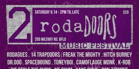 RodaDoors 2 Music Festival tickets