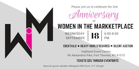 Women in the Marketplace Anniversary Party tickets
