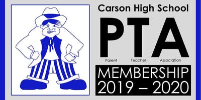 Carson High School PTA Membership 2019 - 2020