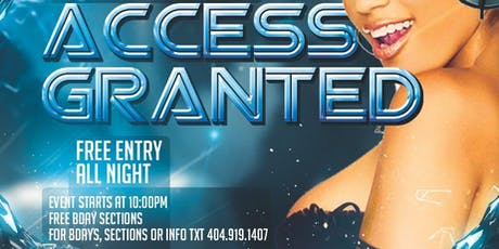 Access Granted Thursday at Members Only Lounge tickets