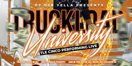 TruckLoad University TLE CINCO performing live #MyAUM #MyASU tickets