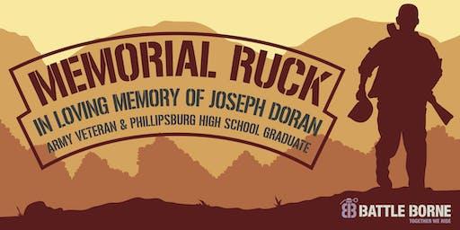 Memorial Ruck in Memory of Joseph Doran