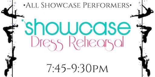 Showcase dress rehearsal—Wednesday 8/21