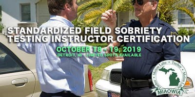 Standardized Field Sobriety Testing Certification