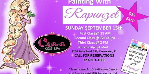Painting Party with the Tower Princess- 3rd Seating