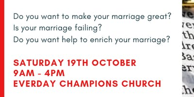 Marriage as God Intended Seminar