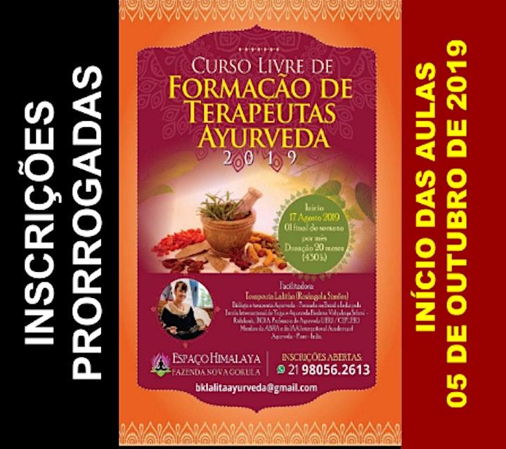 Imagem do evento Curso Livre de Formação de Terapeutas em Ayurveda