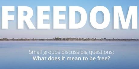 Spiritual Conversations: Freedom tickets
